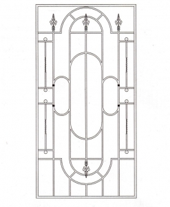 Решетка оконная РШТ 1013