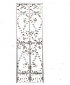 Решетка оконная РШТ 1021