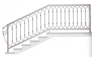 Лестничные перила ПРЛ 2065