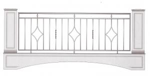 Балконное ограждение ПРЛ 3023