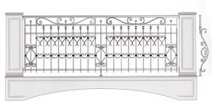 Балконное ограждение ПРЛ 3048