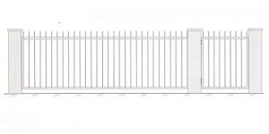 Откатные Ворота ВРТ 5001