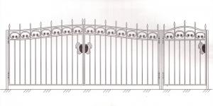 Распашные Ворота ВРТ 5002