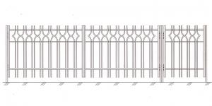 Распашные Ворота ВРТ 5003