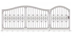 Распашные Ворота ВРТ 5007
