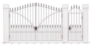 Распашные Ворота ВРТ 5008