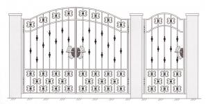 Распашные Ворота ВРТ 5009