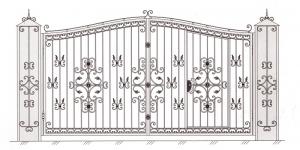 Распашные Ворота ВРТ 5018