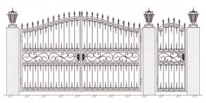 Распашные Ворота ВРТ 5019