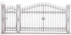 Распашные Ворота ВРТ 5032