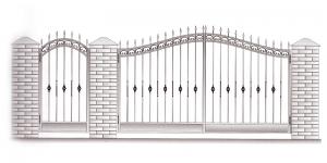 Распашные Ворота ВРТ 5034