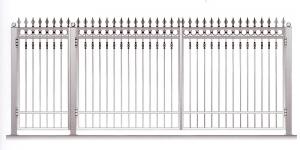 Распашные Ворота ВРТ 5038