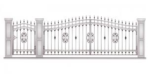 Распашные Ворота ВРТ 5041