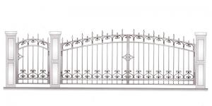 Распашные Ворота ВРТ 5043