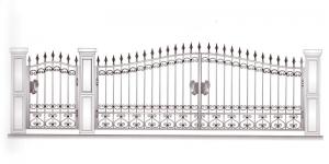 Распашные Ворота ВРТ 5044
