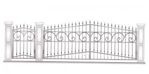 Распашные Ворота ВРТ 5047