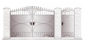 Распашные Ворота ВРТ 5049