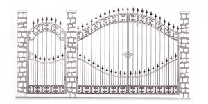 Распашные Ворота ВРТ 5053