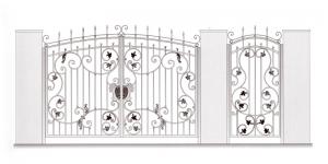 Распашные Ворота ВРТ 5055