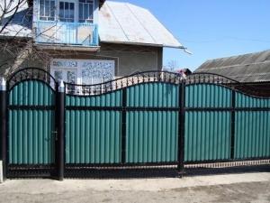 Распашные Кованые Ворота ВРТ 0009