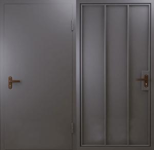 Дверь Стальная Эконом 4